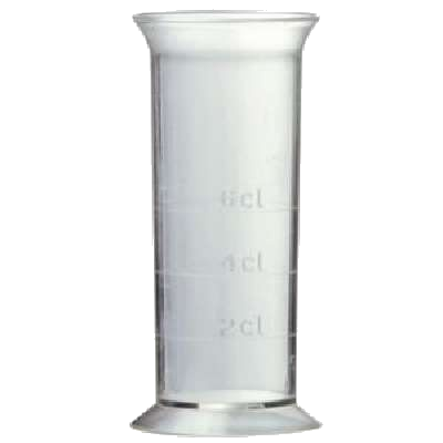 JIGGER / MESSBECHER 2 / 4 / 6 CL